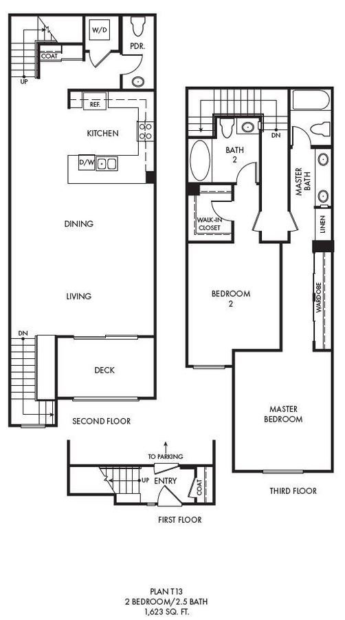 2 Bedrooms 2 Bathrooms Apartment for rent at Palomar Station in San Marcos, CA