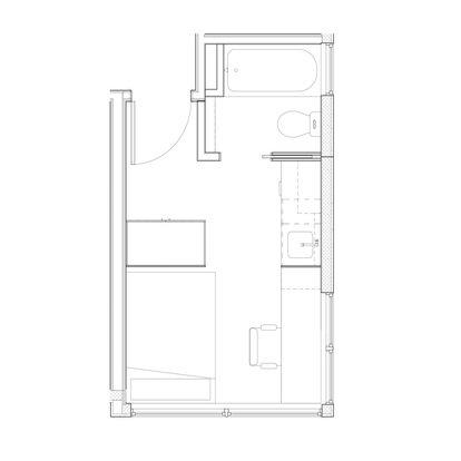 Studio 1 Bathroom Apartment for rent at The Yobi in Seattle, WA