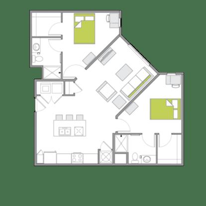 Studio 1 Bathroom Apartment for rent at 930 Nomo in Charleston, SC