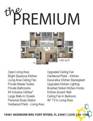1 Bedroom 1 Bathroom Apartment for rent at Coastal Village in Fort Myers, FL
