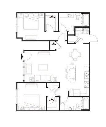 2 Bedrooms 2 Bathrooms Apartment for rent at Longitude 81 in Estero, FL