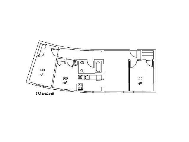 3 Bedrooms 1 Bathroom Apartment for rent at Eddygate in Ithaca, NY