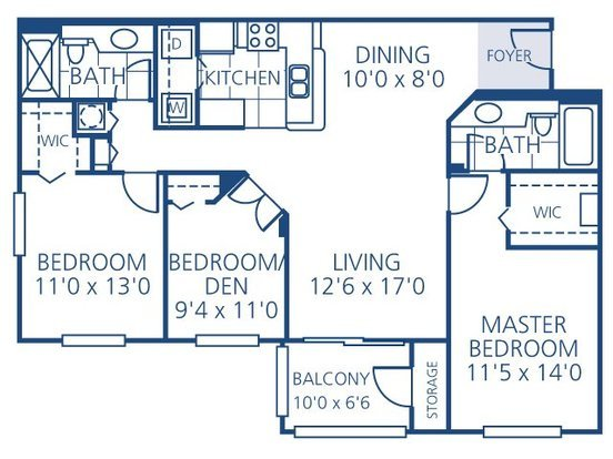 3 Bedrooms 2 Bathrooms Apartment for rent at Promenade At Reflection Lakes in Fort Myers, FL