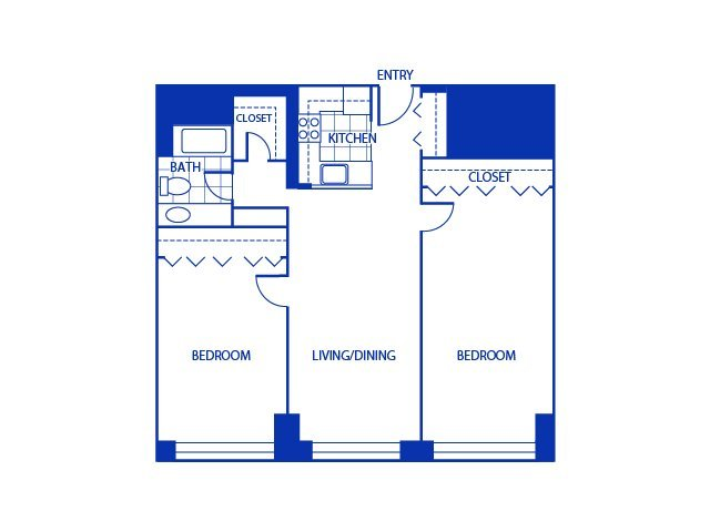 2 Bedrooms 1 Bathroom Apartment for rent at Bigelow Commons in Enfield, CT