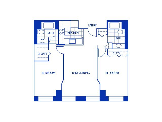 2 Bedrooms 2 Bathrooms Apartment for rent at Bigelow Commons in Enfield, CT
