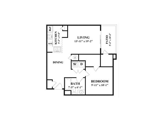 1 Bedroom 1 Bathroom Apartment for rent at Cambridge Faire in Fairburn, GA
