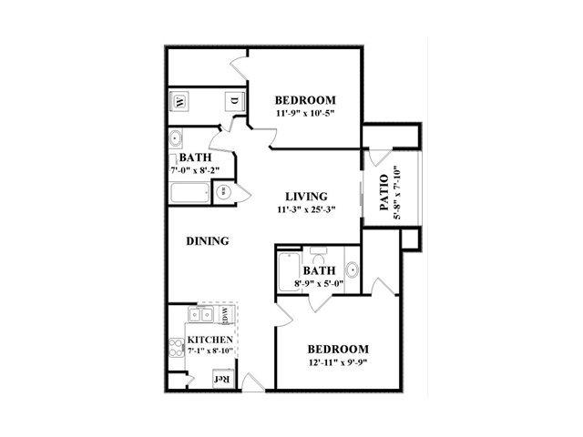 2 Bedrooms 2 Bathrooms Apartment for rent at Cambridge Faire in Fairburn, GA