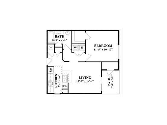 Studio 1 Bathroom Apartment for rent at Cambridge Faire in Fairburn, GA