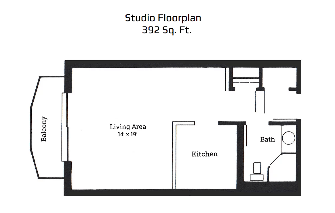 Studio 1 Bathroom Apartment for rent at Park Plaza Apartments in Corvallis, OR