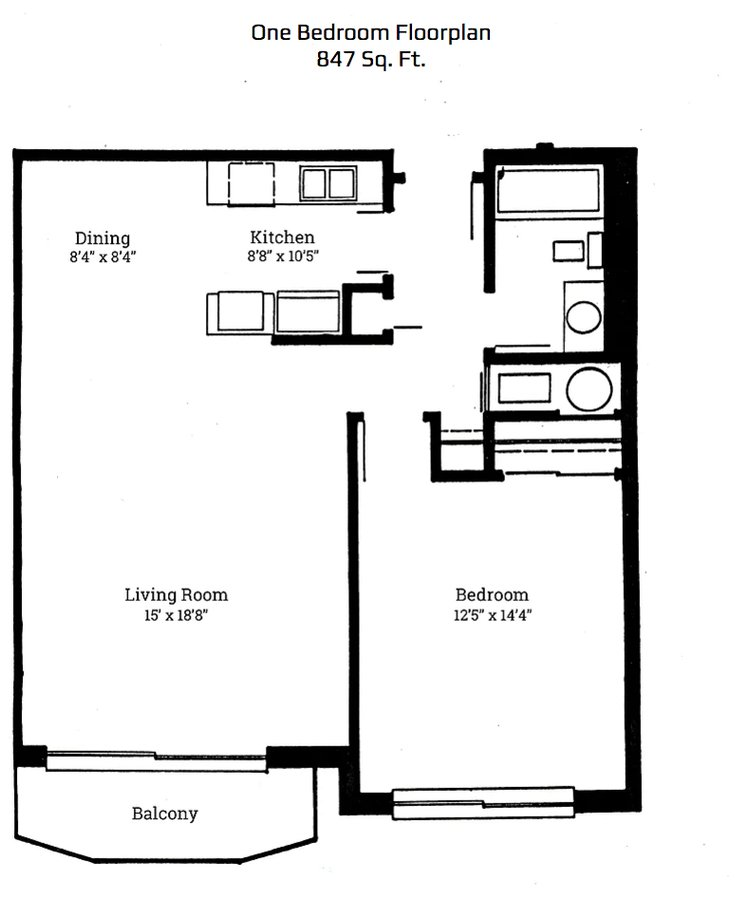 1 Bedroom 1 Bathroom Apartment for rent at Park Plaza Apartments in Corvallis, OR