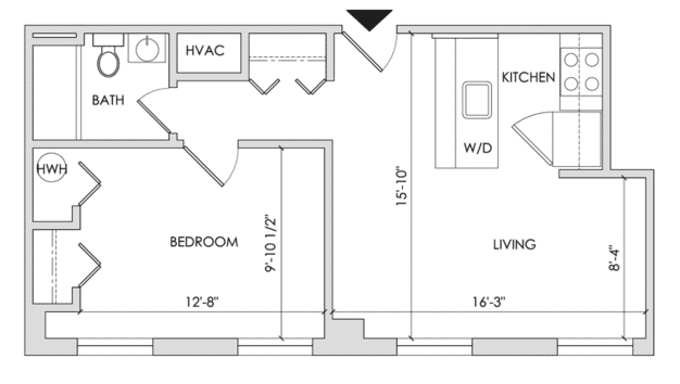 1 Bedroom 1 Bathroom Apartment for rent at 1700 Walnut Street in Philadelphia, PA