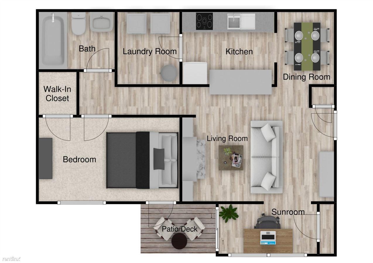 1 Bedroom 1 Bathroom Apartment for rent at Capella Apartments in Tucker, GA