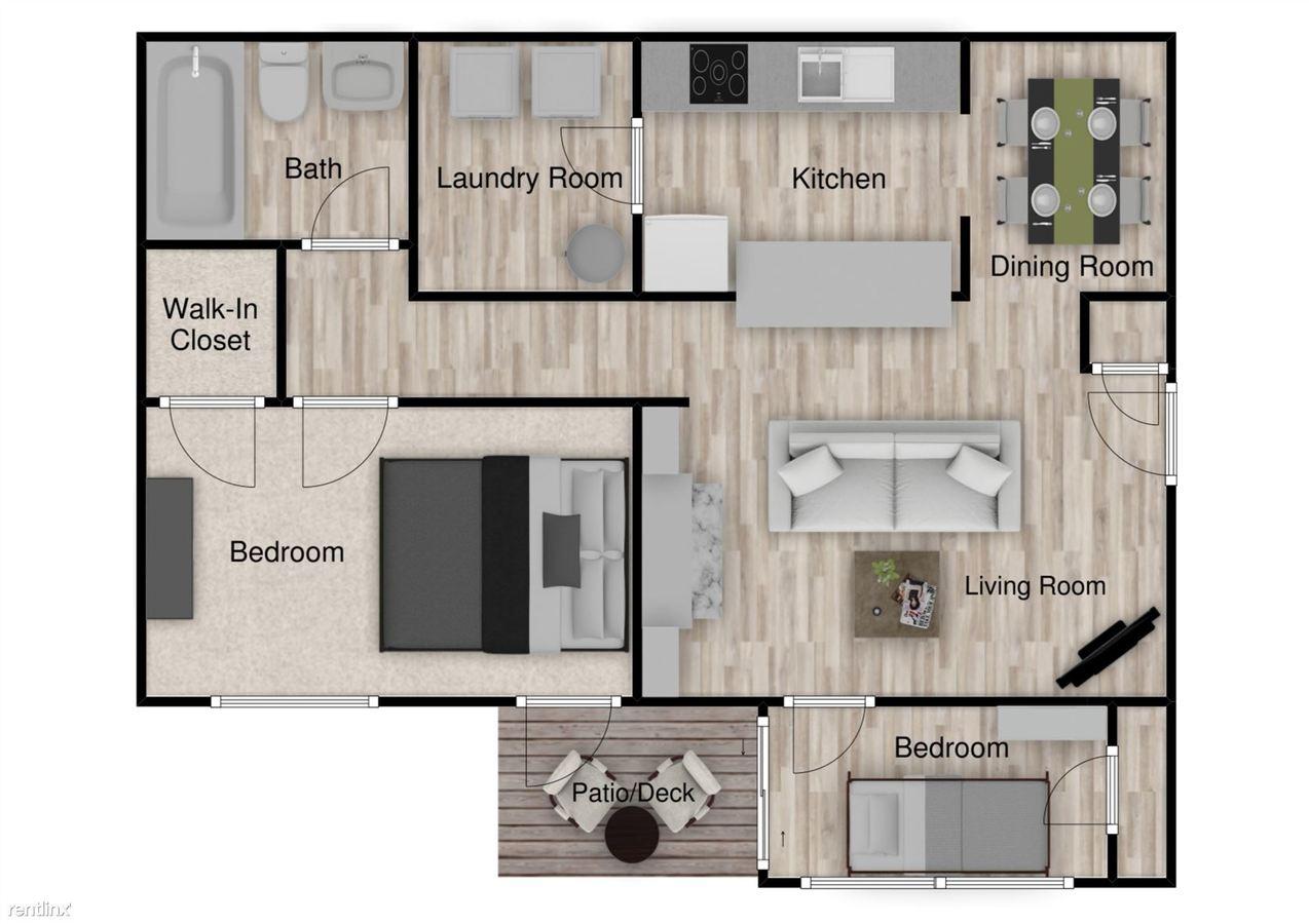 2 Bedrooms 1 Bathroom Apartment for rent at Capella Apartments in Tucker, GA