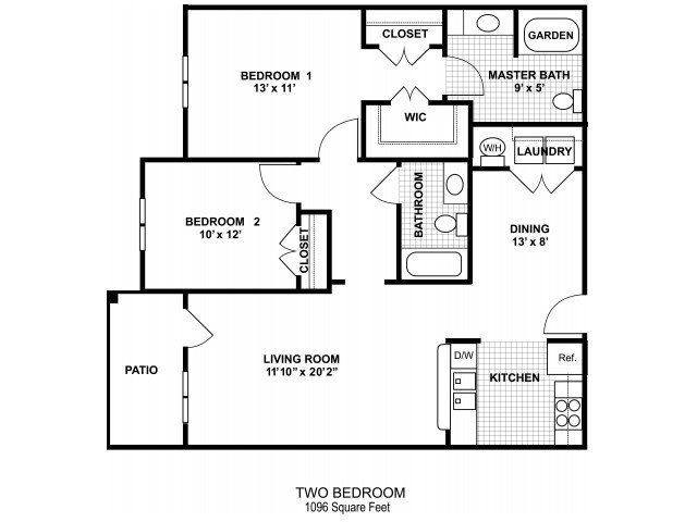 2 Bedrooms 2 Bathrooms Apartment for rent at Amberton At Stonewater in Cary, NC