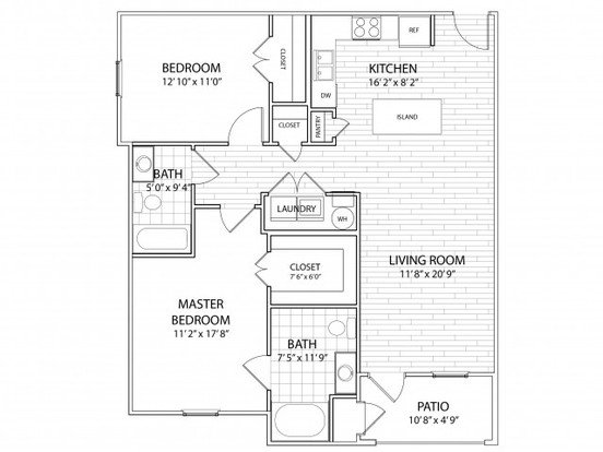 2 Bedrooms 2 Bathrooms Apartment for rent at Heron Pointe in Nashville, TN