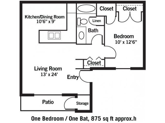 1 Bedroom 1 Bathroom Apartment for rent at The Park At Olathe Station in Olathe, KS