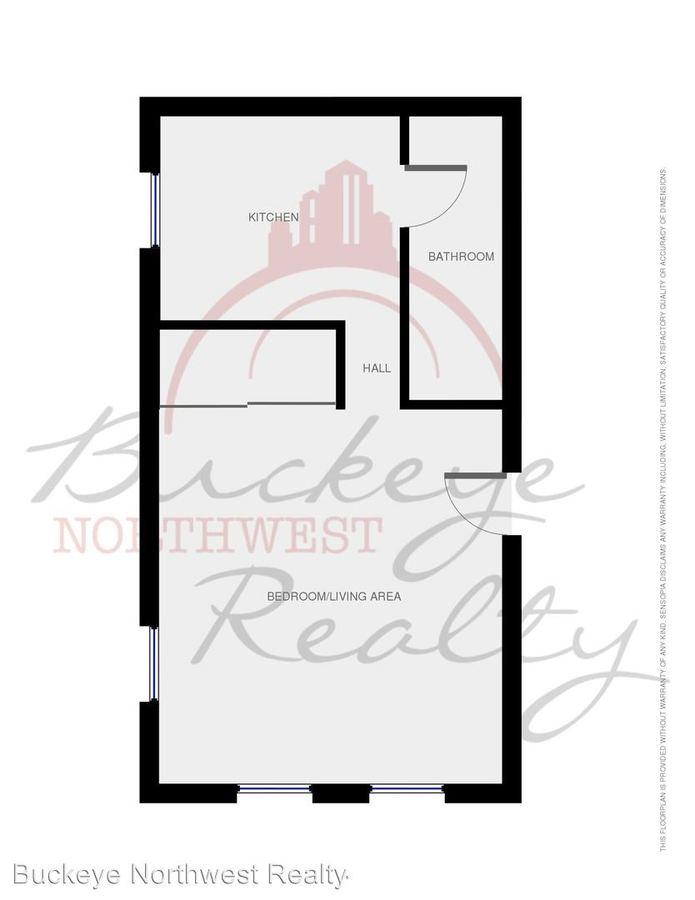 Studio 1 Bathroom Apartment for rent at 2038 Warren in Toledo, OH