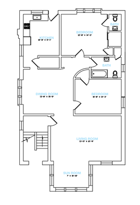 2 Bedrooms 1 Bathroom Apartment for rent at Peacock in St Louis, MO