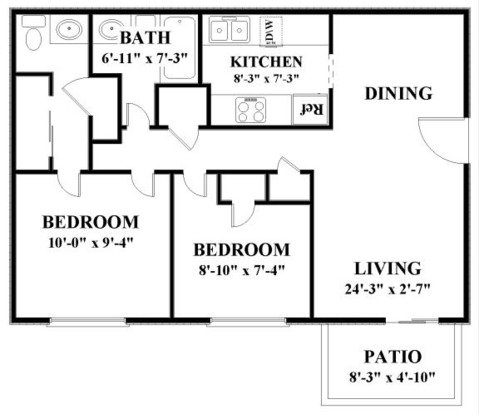 2 Bedrooms 1 Bathroom Apartment for rent at Autumn Park in Overland Park, KS
