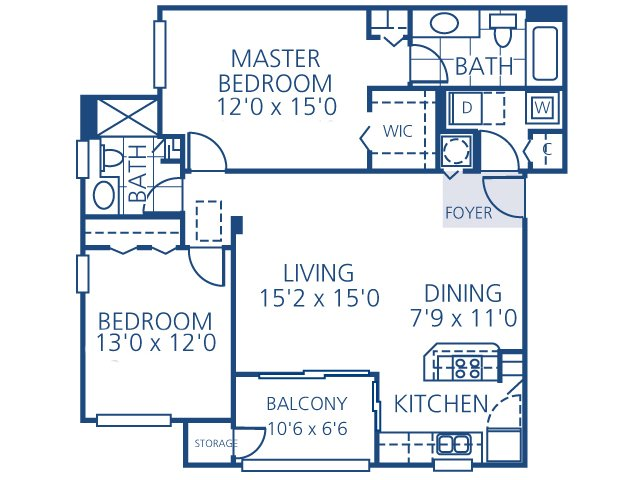 2 Bedrooms 2 Bathrooms Apartment for rent at Promenade At Reflection Lakes in Fort Myers, FL