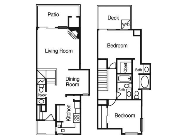 2 Bedrooms 2 Bathrooms Apartment for rent at Madison At The Arboretum in Austin, TX