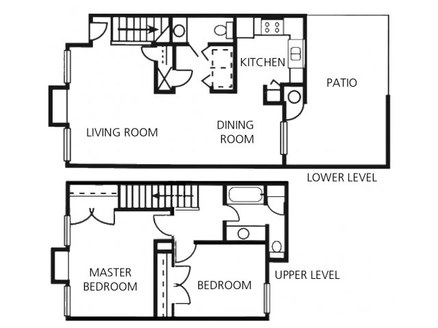 2 Bedrooms 1 Bathroom Apartment for rent at Crossings At Fox Meadows in Memphis, TN