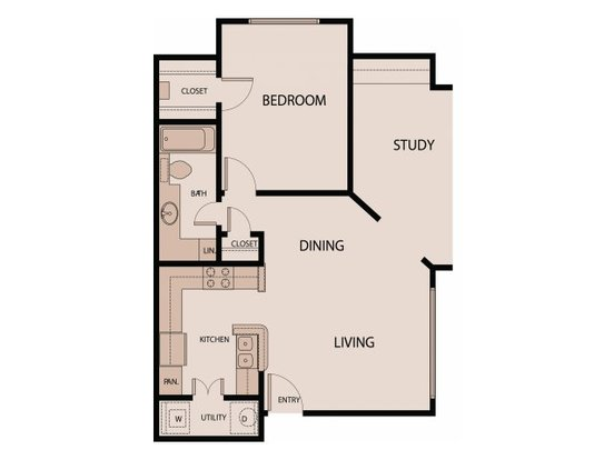 1 Bedroom 1 Bathroom Apartment for rent at Northland Museo in Austin, TX