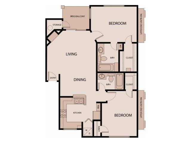 2 Bedrooms 2 Bathrooms Apartment for rent at Northland Museo in Austin, TX