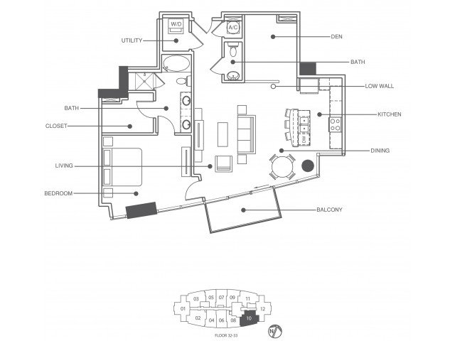1 Bedroom 1 Bathroom Apartment for rent at Element in Tampa, FL