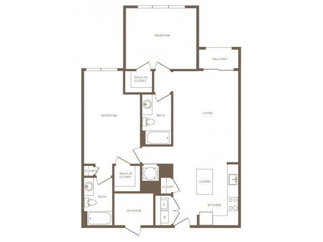 2 Bedrooms 2 Bathrooms Apartment for rent at Modera Fairfax Ridge in Fairfax, VA