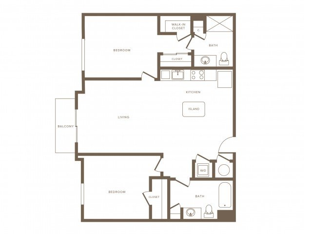 2 Bedrooms 2 Bathrooms Apartment for rent at Modera Douglas Station in Miami, FL