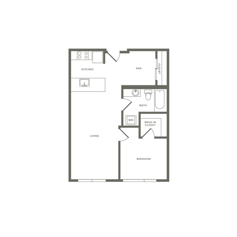 1 Bedroom 1 Bathroom Apartment for rent at Modera Jackson in Seattle, WA