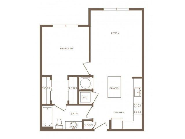 1 Bedroom 1 Bathroom Apartment for rent at Modera Fairfax Ridge in Fairfax, VA