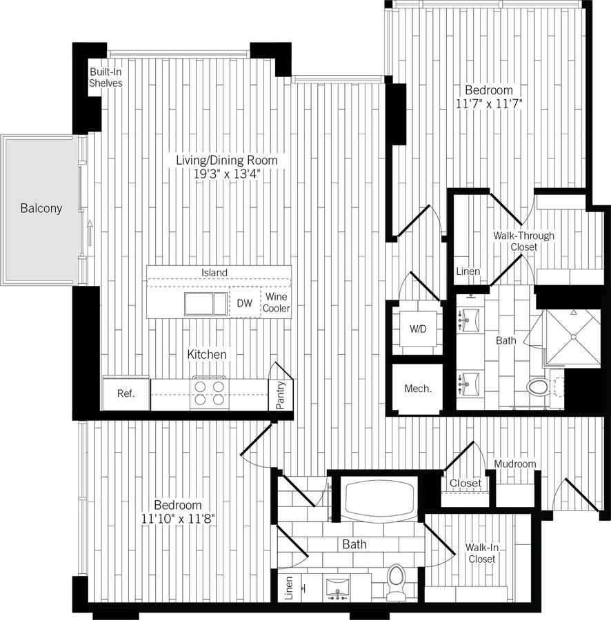 2 Bedrooms 2 Bathrooms Apartment for rent at Ardan in Dallas, TX