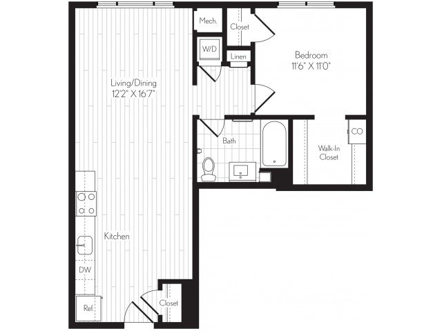1 Bedroom 1 Bathroom Apartment for rent at Axis in Los Angeles, CA