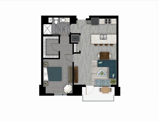 1 Bedroom 1 Bathroom Apartment for rent at The Lyric in Madison, WI
