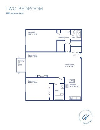 2 Bedrooms 2 Bathrooms Apartment for rent at Barrington Lakes in Hoffman Estates, IL