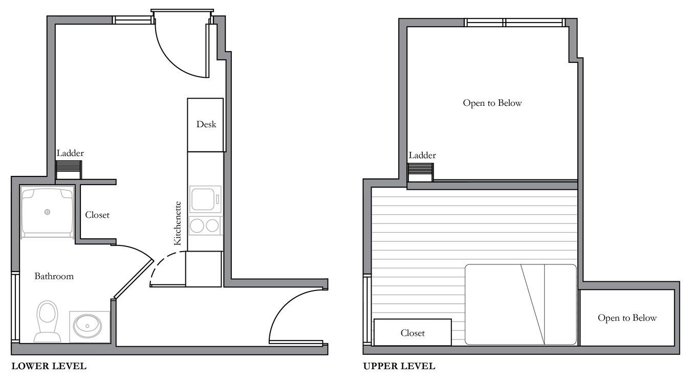 Studio 1 Bathroom Apartment for rent at Alder Flats in Seattle, WA