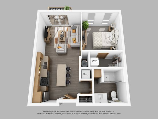 1 Bedroom 1 Bathroom Apartment for rent at The Standard in Milwaukee, WI