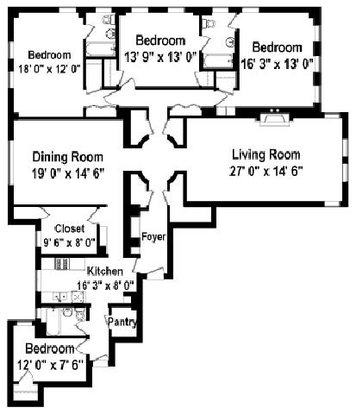 4 Bedrooms 3 Bathrooms Apartment for rent at Shorewind Towers Apartments in Chicago, IL