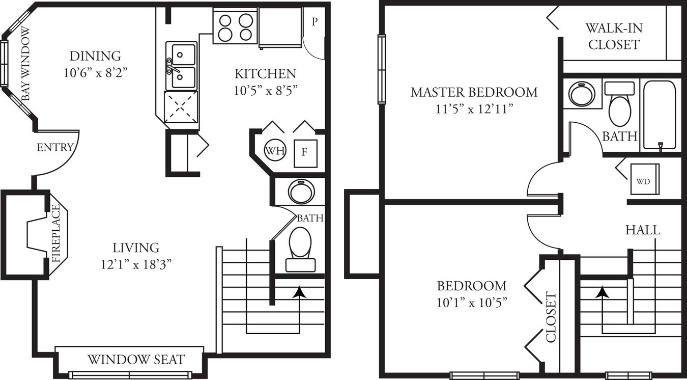 2 Bedrooms 1 Bathroom Apartment for rent at Green Trails in Lisle, IL