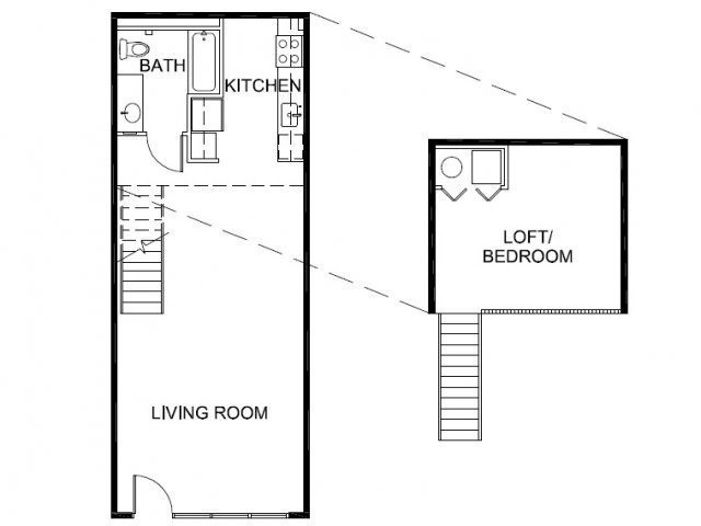 1 Bedroom 1 Bathroom Apartment for rent at Mason At Hive in Oakland, CA