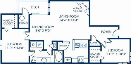 2 Bedrooms 1 Bathroom Apartment for rent at Camden Ballantyne in Charlotte, NC