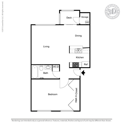 1 Bedroom 1 Bathroom Apartment for rent at Elan41 in Seattle, WA
