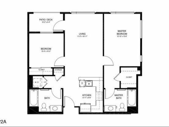 2 Bedrooms 2 Bathrooms Apartment for rent at Linden Apartments in Portland, OR