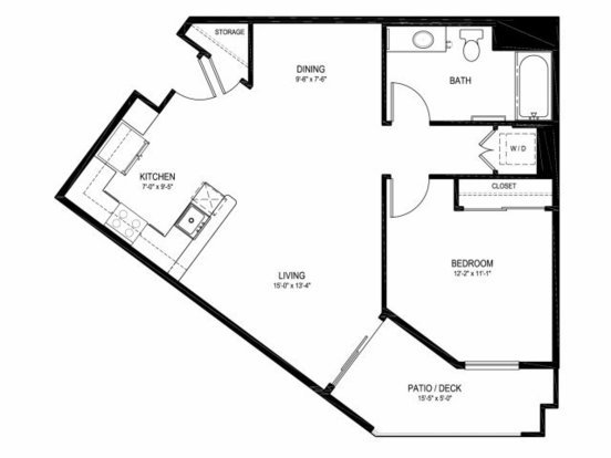 1 Bedroom 1 Bathroom Apartment for rent at Linden Apartments in Portland, OR