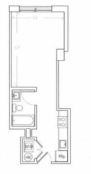 Studio 1 Bathroom Apartment for rent at The Hub On Chestnut in Philadelphia, PA