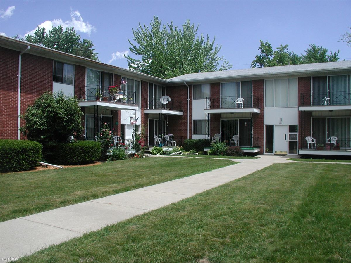 2 Bedrooms 1 Bathroom Apartment for rent at Ambassador Apartments in Lansing, MI