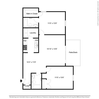 2 Bedrooms 2 Bathrooms Apartment for rent at Leawood At State Line in Overland Park, KS