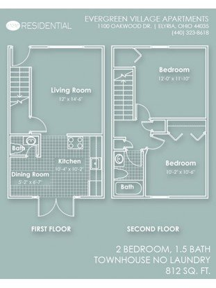 Evergreen Village Apartments Elyria, OH